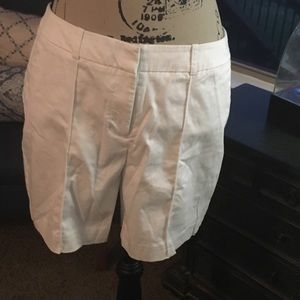 Long White Worthington Shorts- Size 8